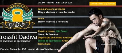Treino do Dia – Seminário dos Coachs Thiago e Luará